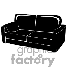 as a couch pictures clipart
