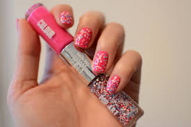 gelish pop art nail art funky fingers factory goldilocks the