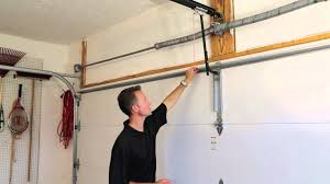 installation of garage door is your garage door properly reinforced to work with your opener