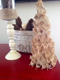 two it yourself diy west elm burlap christmas tree knockoff