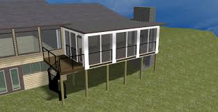 Screened Porch Plans Screen Porches U2013 Columbus Decks Porches And Patios By Archadeck
