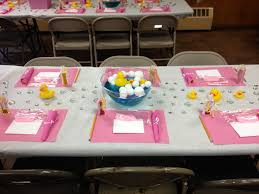 Baby Shower Table Centerpieces by Baby Shower Table Decorations Rubber Ducks Bubbles Pink Trista