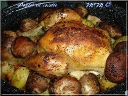 cuisiner un poulet entier poulet fermier en cocotte la table de mamou