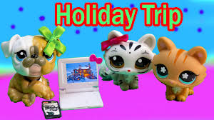 lps mommies holiday special cozy cabin trip vacation littlest pet