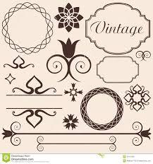 vintage design images of style vector vintage sc