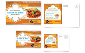 indian menu template indian restaurant menu template design