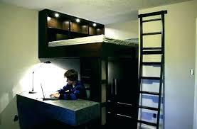 ag e murale bureau lit a etage avec bureau lit e etage avec bureau lit en hauteur avec