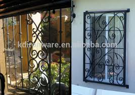 top quality popular ornamental wrought iron window burglar designs