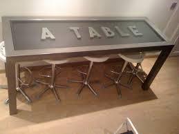 Meuble Style Industriel Pas Cher by Table A Manger Ar Verre Loft Collection Et Table A Manger