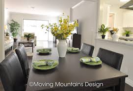 Los Angeles Home Staging Van Nuys Dining Room Moving Mountains - Dining room staging