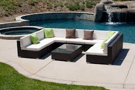 White Wood Outdoor Furniture by Patio Outstanding Patio Furniture Sofa Outdoor Sofa Sectional