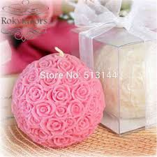 party favours free shipping 100pcs of candle wedding favors bridal