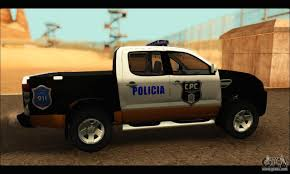 Ford Ranger Truck Mods - ford ranger p b a 2015 text3 for gta san andreas