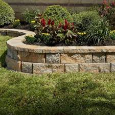 pavestone rockwall 4 in x 12 in yukon small concrete garden wall