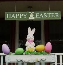 Outside Easter Decorations Ideas by Outdoor Easter Decorations 27 Ideas For Garden And Entry Into