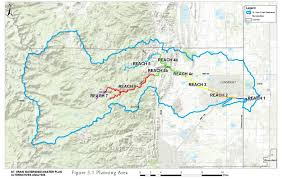 Broomfield Colorado Map by Our Watershed Saint Vrain Creek Coalition