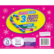 sweetarts candy canes 6 oz box walmart com
