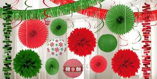Christmas Cutout Decorations Christmas Decorations By Color Hanging Decorations Garlands