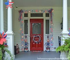 fourth of july decorations 4th of july porch decorating ideas