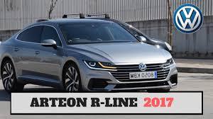 volkswagen arteon r line review test volkswagen arteon r line 2017 youtube