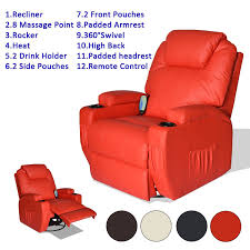 Recliners That Do Not Look Like Recliners Massage Recliner Sofa Leather Vibrating Heated Chair Lounge