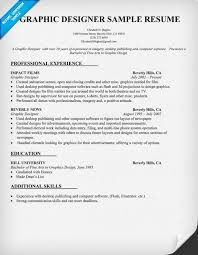 Web Designer Resume Sample Sample Designer Resume Old Version Old Version Web Graphic