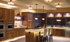 Kitchen Light Under Cabinets by Led Kitchen Lighting Under Cabinet Having White Finish Varnished
