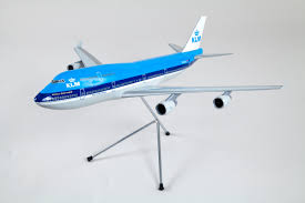 model aircraft klm royal dutch airlines boeing 747 400 san