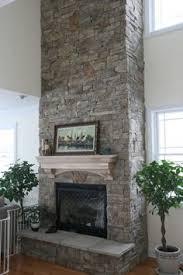 Cost Of Stone Fireplace by Modern Stone Fireplace Wall Ideas Fireplace Pinterest Modern