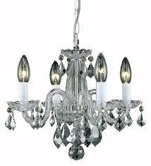 Chandelier Over Bathtub Safety by Elegant Lighting Rococo Chandelier Crystal Clear Amazon Com