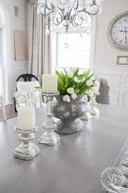 dining table center piece wandverkleidung unten weiß oben lichtes grau überall im eg my
