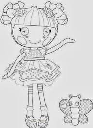 lalaloopsy coloring pages diy crafts gifts