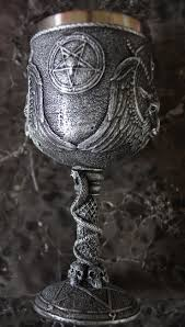 ceremonial chalice baphomet the sabbatic goat goblet chalice the luciferian
