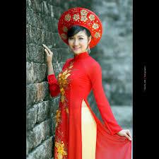 ao dai cuoi dep ao dai viet nam buy tradditional dress product on alibaba
