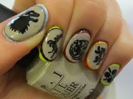 finger nail art designs simple nail design ideas 56255 polished