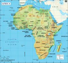 geographical map of kenya getting to africa 50 interesting facts national