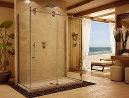 Installing Frameless Shower Doors Bathroom Frameless Shower Door With Sliding Door And