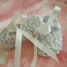 Sho Bayi free shipping handmade pearl rhinestone ribbon baby s