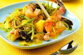 cuisiner gambas recette de papillotes de gambas au curry la recette facile