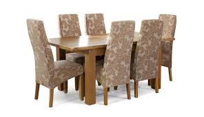 Oak Extending Dining Table And 4 Chairs Classic Extending Dining Set In Oak Dining Table 6 Chairs Stylish
