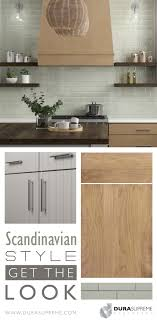 kitchen design with light colored cabinets get the look scandinavian style kitchen design dura