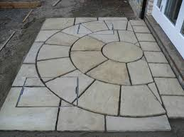 Simple Brick Patio With Circle Paver Kit Patio Designs And Ideas by Circular Patio Kit Menards Home Outdoor Decoration