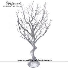 manzanita branches centerpieces wefound silver manzanita branch wedding table tree centerpieces 27