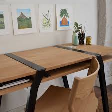 furniture office height and desktop adjustable trestle table