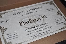 harry potter invitations afoodaffair me