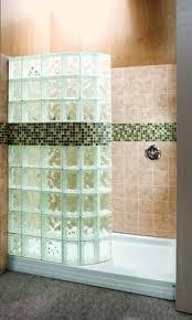glass block bathroom designs doorless shower design glass block showers doorless shower wedi