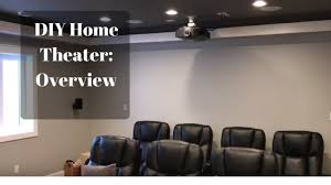 home theater riser platform my diy basement home theater movie room part 1 overview youtube