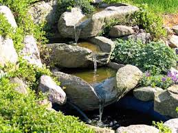 Waterfalls In Backyard Ponds by Small Outdoor Waterfall Fountains Waterfalls Small Garden