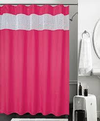 Pink Sparkle Curtains Best Shower Curtain Pink Photos Bathtub For Bathroom Ideas