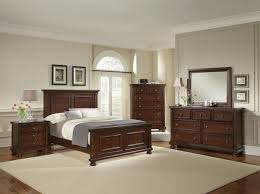 Home Furniture Bedroom Sets All American Reflections Mansion Bedroom Set In Dark Cherry